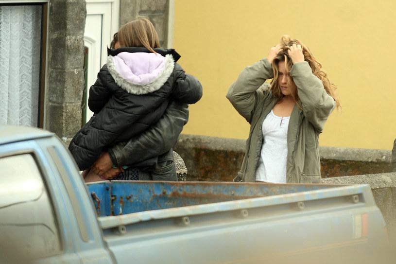 """Alicja Bachleda-Curuś i Colin Farrell grali razem w filmie """"Ondine"""". To tam zrodziła się ich miłość /Agencja FORUM"""