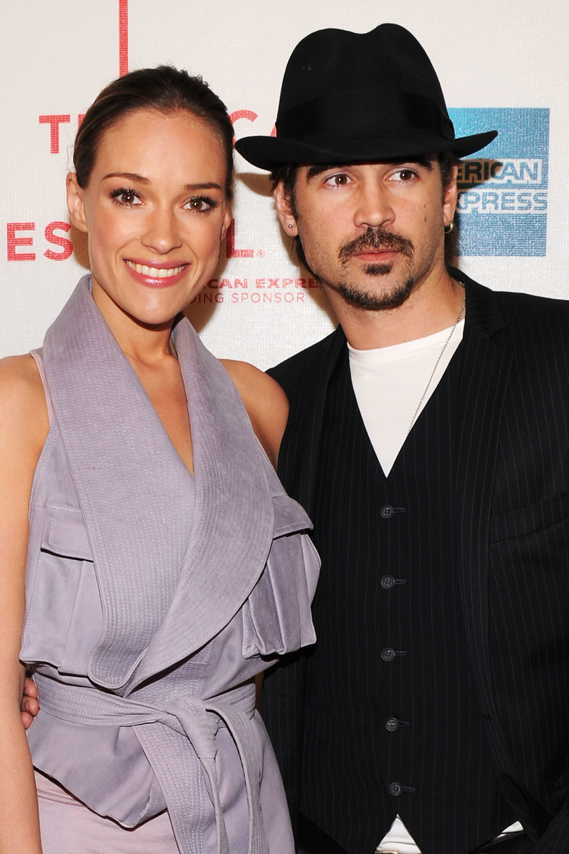 Alicja Bachleda-Curuś i Colin Farrell /- /Getty Images