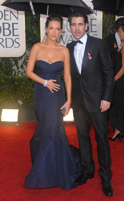 Alicja Bachleda-Curuś i Colin Farrell /Jason Merritt /Getty Images