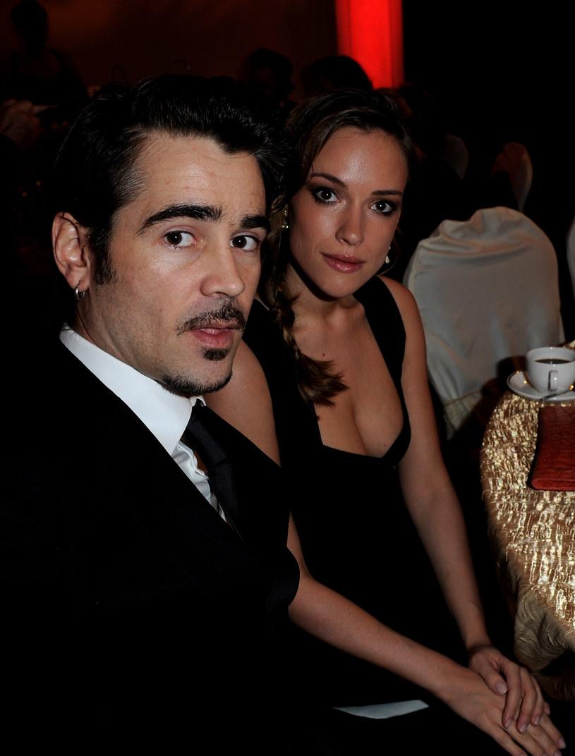 Alicja Bachleda-Curuś i Colin Farrell /Eamonn Cormack /Getty Images