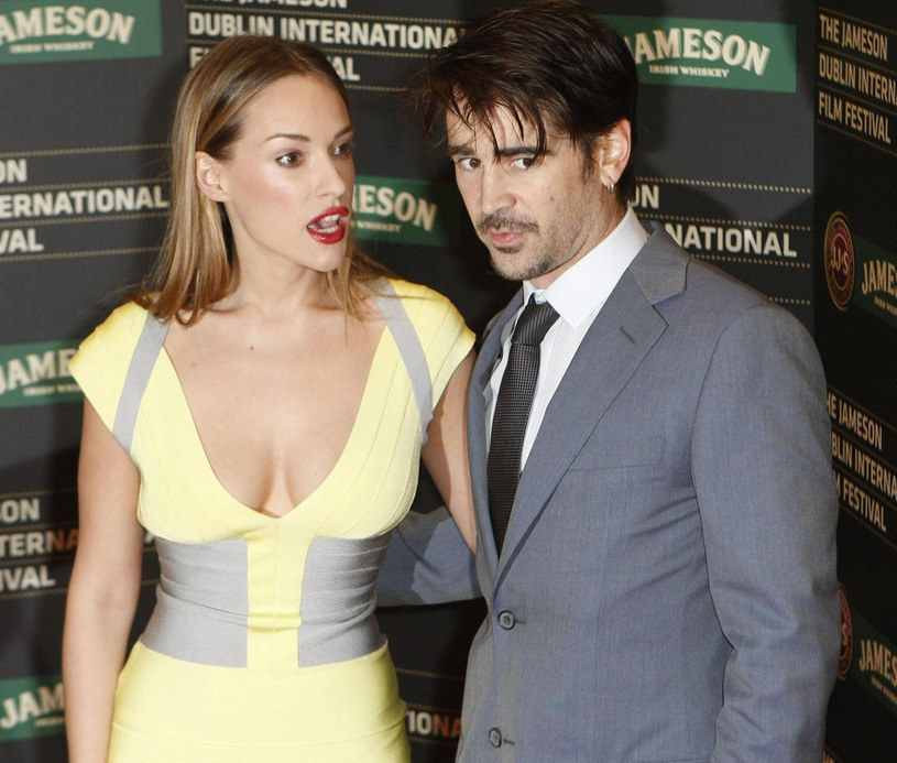 Alicja Bachleda-Curuś i Colin Farrell /East News