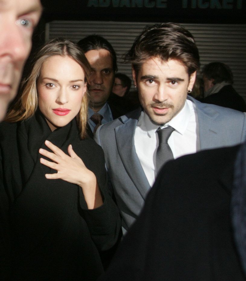 Alicja BAchleda-Curuś i Colin Farrell /Splashnews /East News