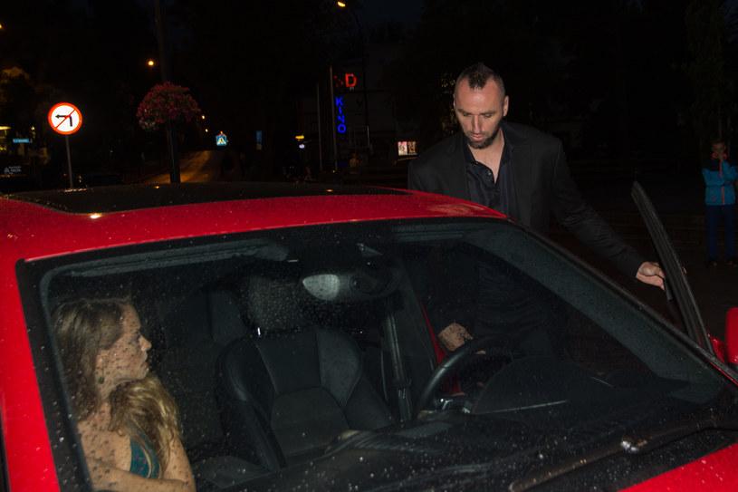 Alicja Bachleda-Curuś i Marcin Gortat /Marcin Szkodziński /Agencja FORUM