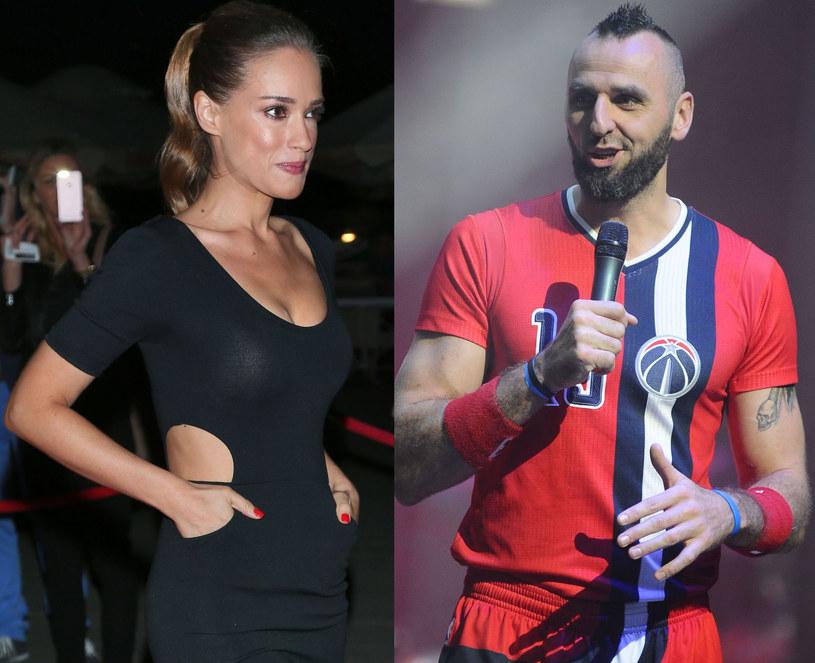 Alicja Bachleda-Curuś, Marcin Gortat, fot. Paweł Wrzecion, Piotr Andrzejczak /MWMedia