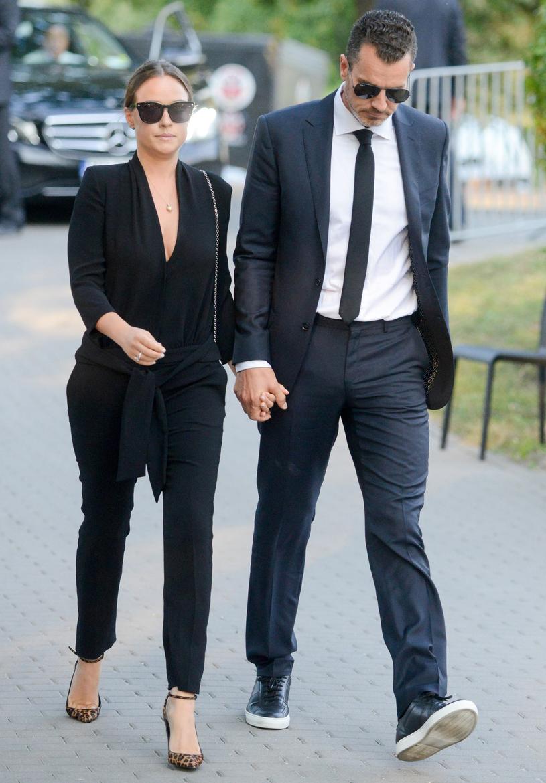 Alicja Bachleda-Curuś z narzeczonym /Tadeusz Wypych/REPORTER /Reporter