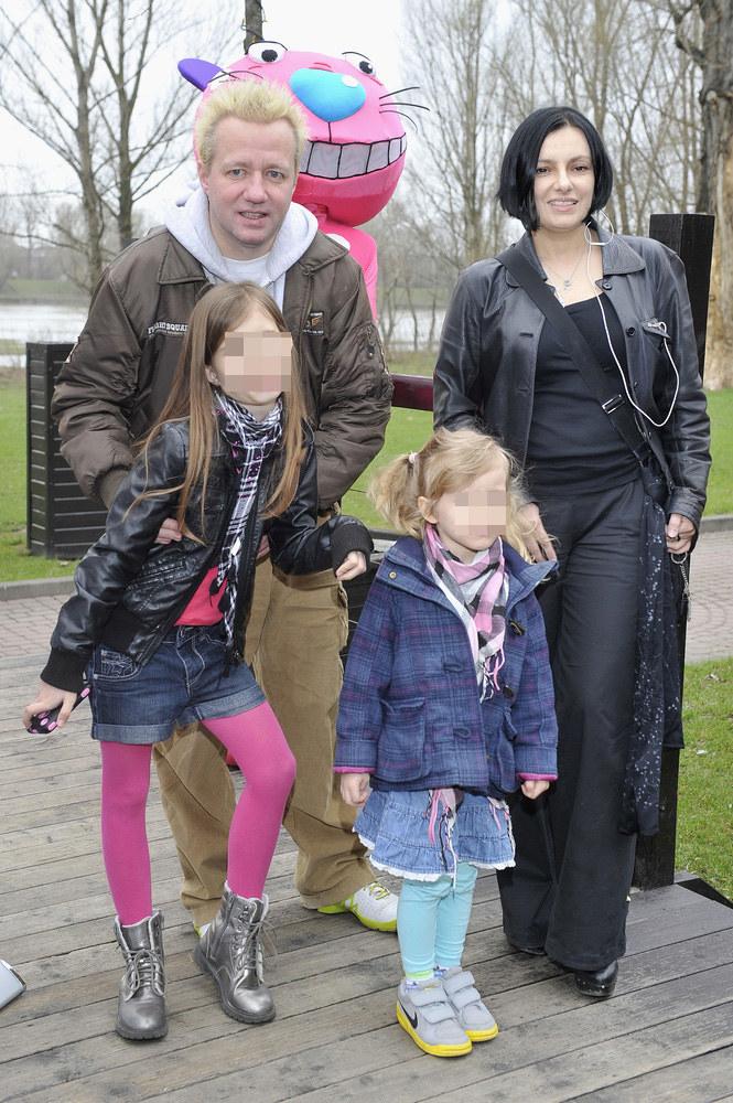 Alicja Borkowska i Robert Leszczyński mają 10-letnią córkę Vesnę /Piętka Mieszko /AKPA