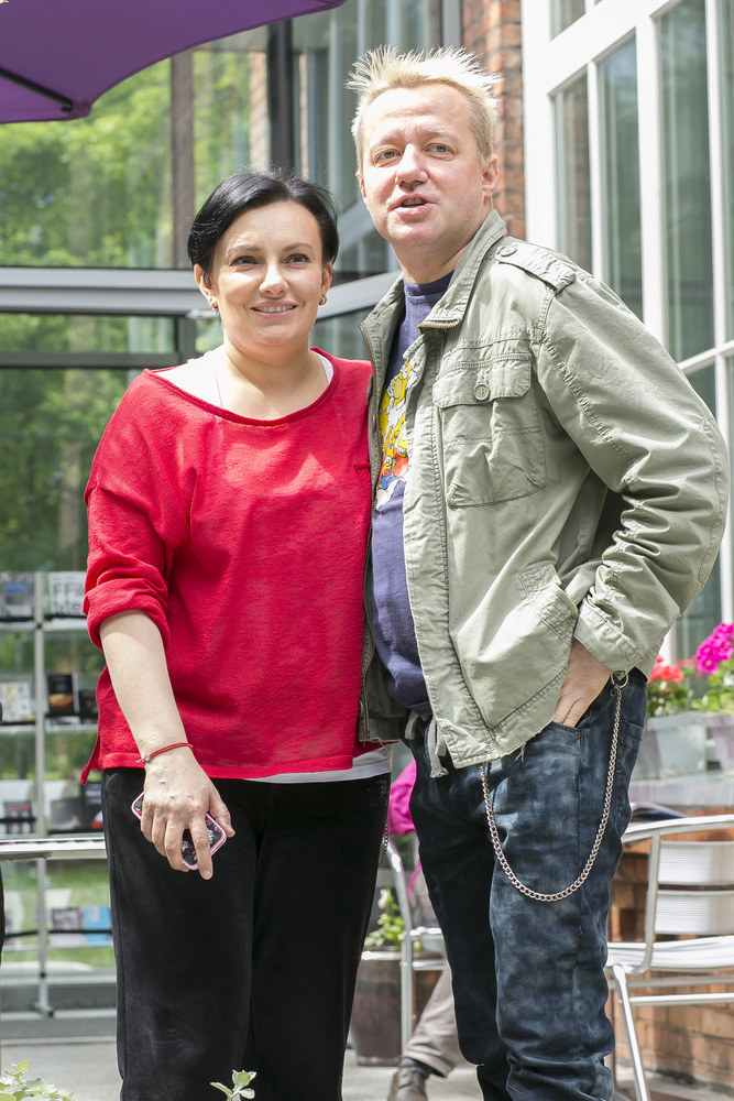 Alicja Borkowska i Robert Leszczyński /Baranowski /AKPA