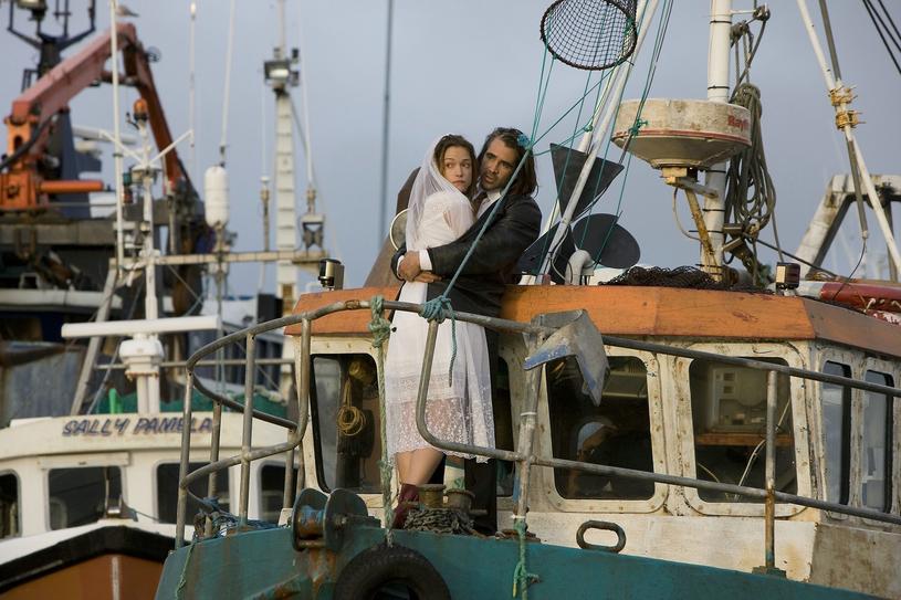 """Alicja i Colin na planie filmu """"Ondine"""" /East News"""