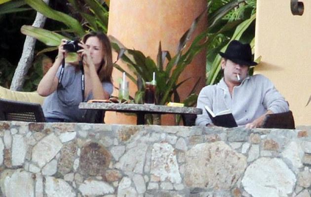 Alicja i Colin podczas wakacji w Meksyku  /East News