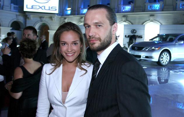 Alicja i Michał, 2005, fot.Warda  /AKPA