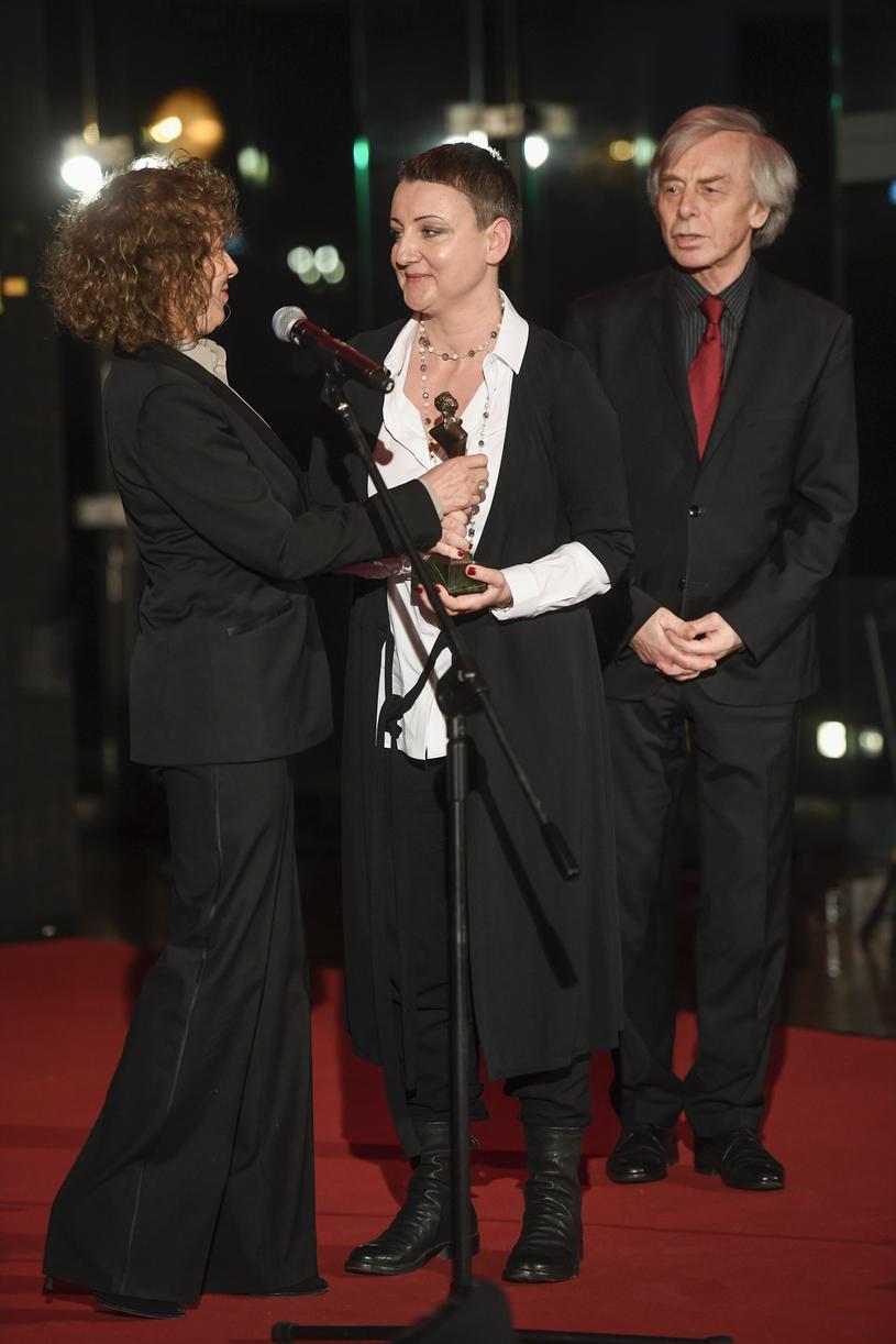 Alicja Majewska i Katarzyna Wodecka-Stubbs, na zdj. z Włodzimierzem Korczem /Niemiec /AKPA