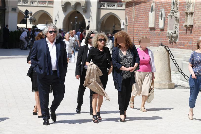 Alicja Majewska w drodze na pogrzeb Wodeckiego /Damian Klamka /East News