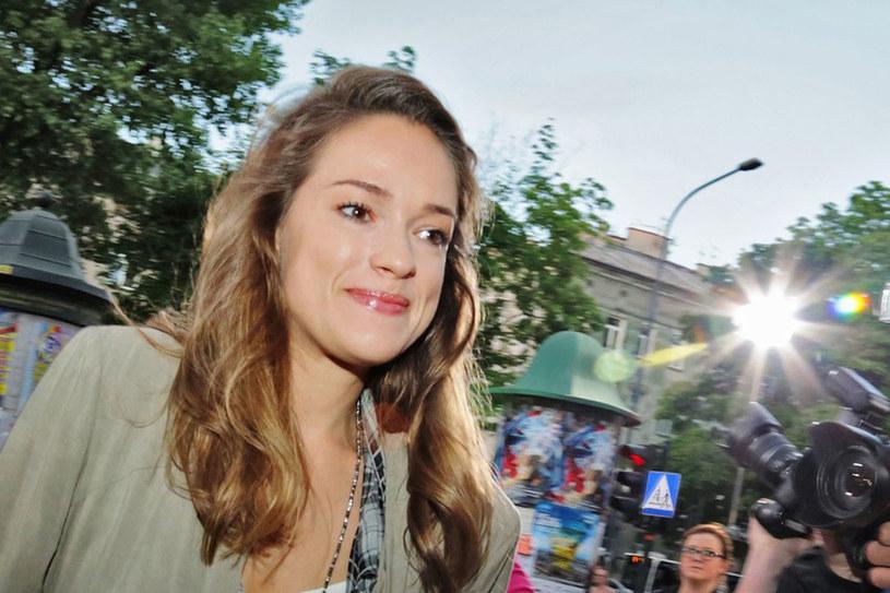 Alicja przyjechała do Krakowa na festiwal filmowy /Beata Zawrzel /Reporter