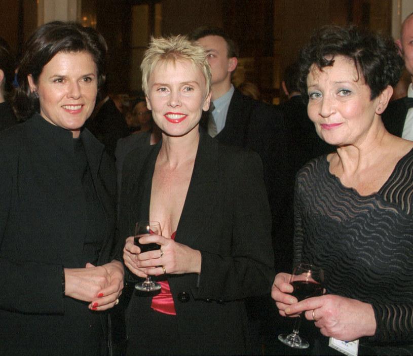 Alicja Resich-Modlinska, Ewa Blaszczyk i Ewa Daukowska na zdjęciu w 2001 roku /Wojciech Stein  /Reporter