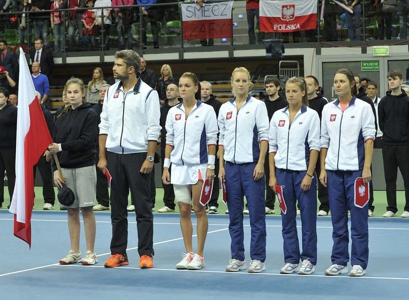 Alicja Rosolska (druga z prawej) /AFP
