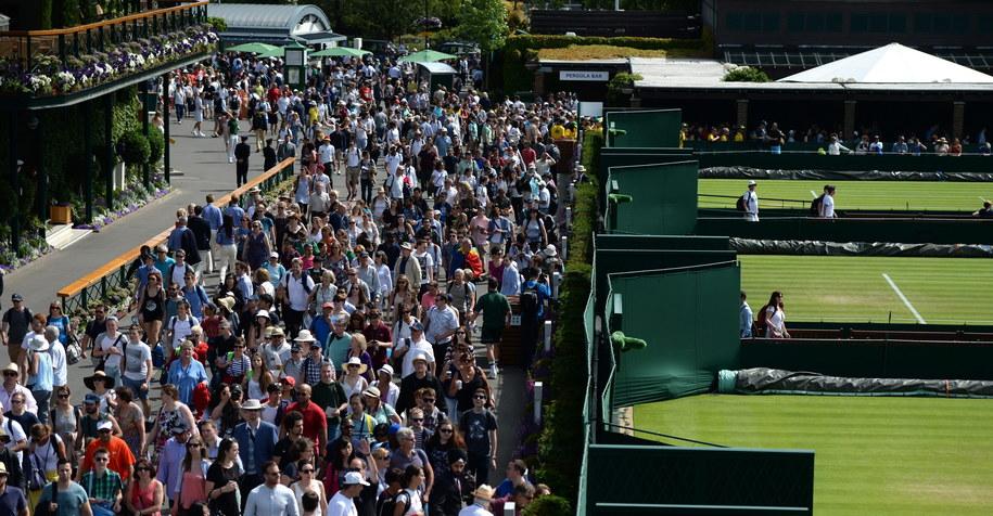 Alicja Rosolska odpadła z Wimbledonu (zdj. ilustracyjne) /ANDY RAIN /PAP/EPA