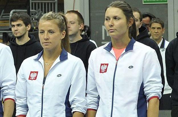 Alicja Rosolska (z lewej) i Klaudia Jans-Ignacik /AFP