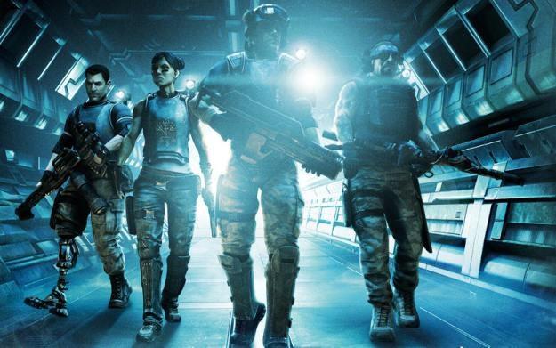 Aliens: Colonial Marines - motyw graficzny /materiały prasowe