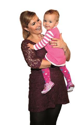 Alikia Ilia w listopadzie skończy dwa lata. Jest wyczekanym, wymarzonym dzieckiem piosenkarki i aktorki. /WBF Agencja Fotograficzna Sylwia Pr