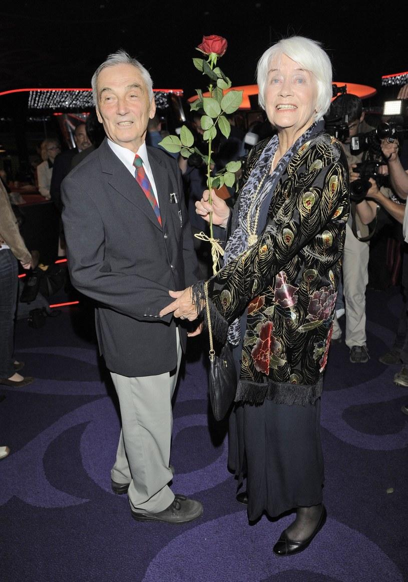 Alina Janowska z mężem, 2009 rok /Tricolors /East News