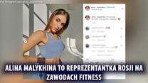 """Alina Malykhina rzuciła fitness dla modelingu. """"Czułam się jak pies"""". Wideo"""