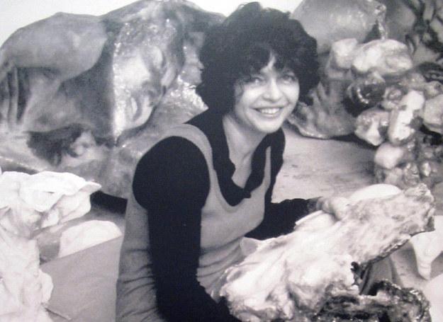 Alina Szapocznikow, lata 60-te /rep.Wasyluk/REPORTER /East News