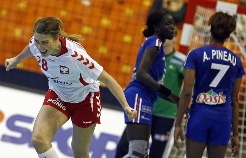 Alina Wojtas podczas mistrzostw świata /AFP