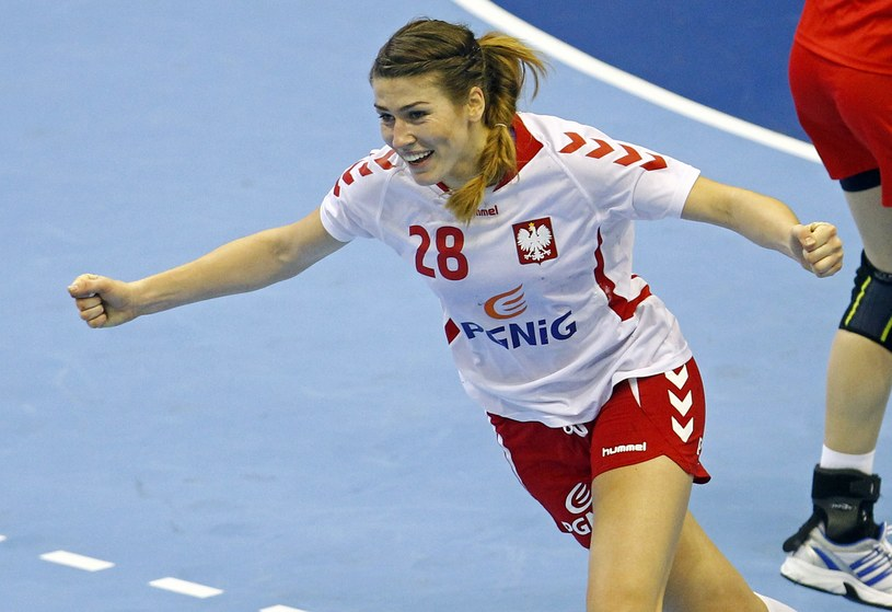 Alina Wojtas rzuciła 9 goli w meczu z Rumunią /AFP