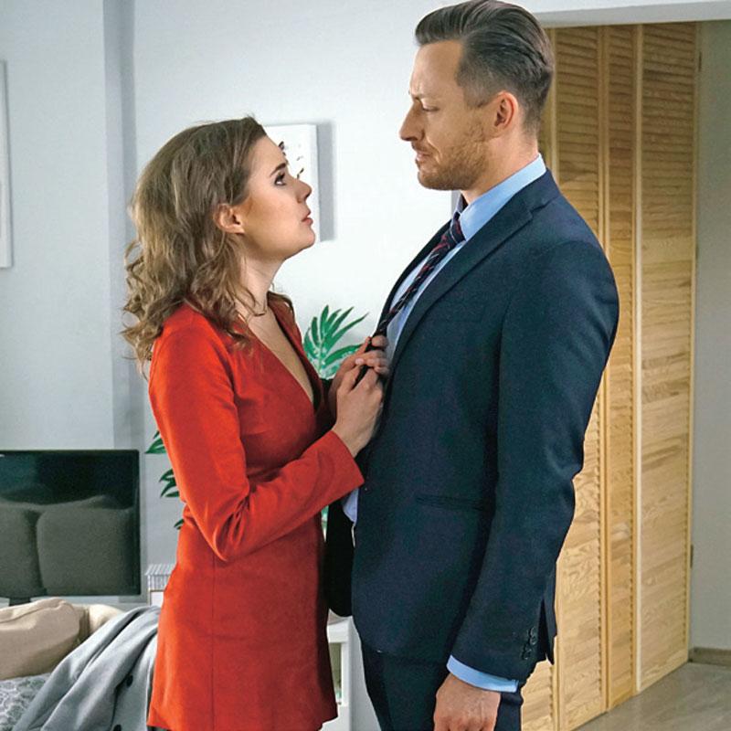 Alina zacznie namawiać Macieja, by wyjechali za granicę, ale Wilk stwierdzi, że jeszcze nie skończył z Natalią /Świat Seriali