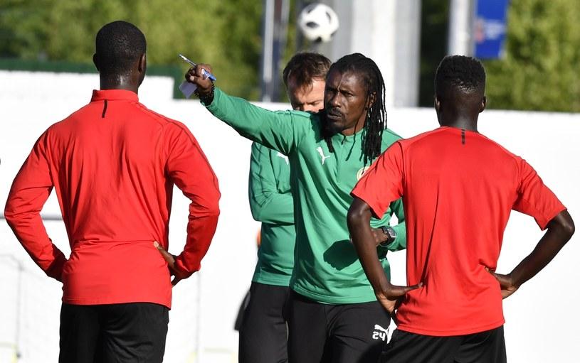 Aliou Cisse, trener Senegalczyków /AFP