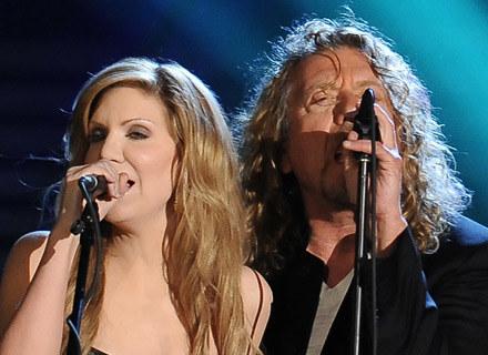 Alison Krauss i Robert Plant /arch. AFP