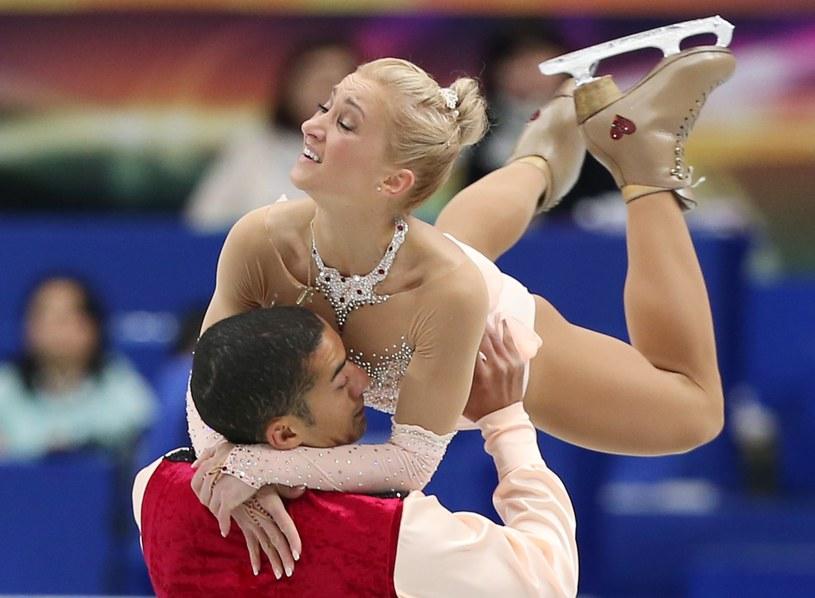 Aljona Savchenko i Robin Szolkowy znów okazali się najlepsi /AFP