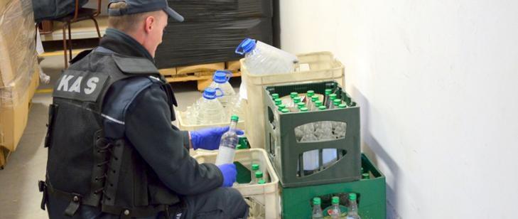 Alkohol zostanie wykorzystany w walce z koronawirusem /gov.pl /
