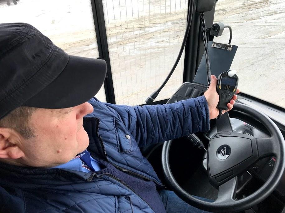 Alkomaty dla kierowców w miejskich autobusach /Krzysztof Kot /RMF FM