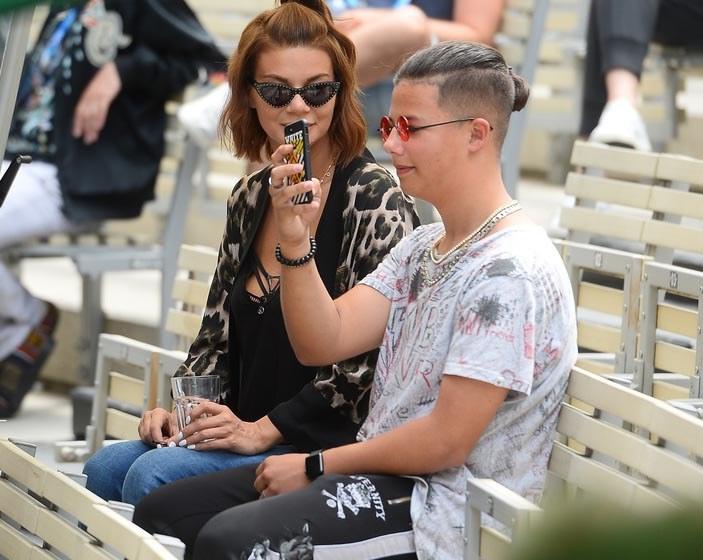 Allan Krupa z mamą /Jaroslaw Antoniak /MWMedia