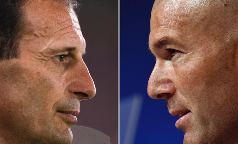 Allegri vs Zidane - to starcie elektryzować będzie wieczorem cały świat /AFP