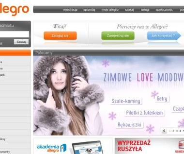 Allegro.pl: Zakupy bez rejestracji