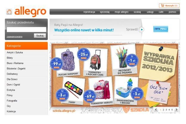 Allegro planuje zlikwidować opcję Kup Teraz /materiały prasowe