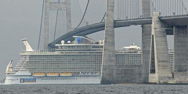 Allure of the Seas /AFP