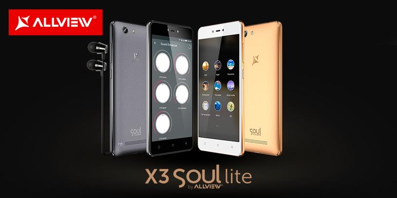 Allview X3 Soul Lite /materiały prasowe