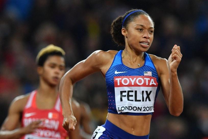 Allyson Felix /AFP
