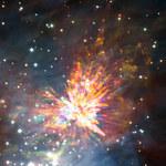ALMA obserwuje kosmiczne fajerwerki