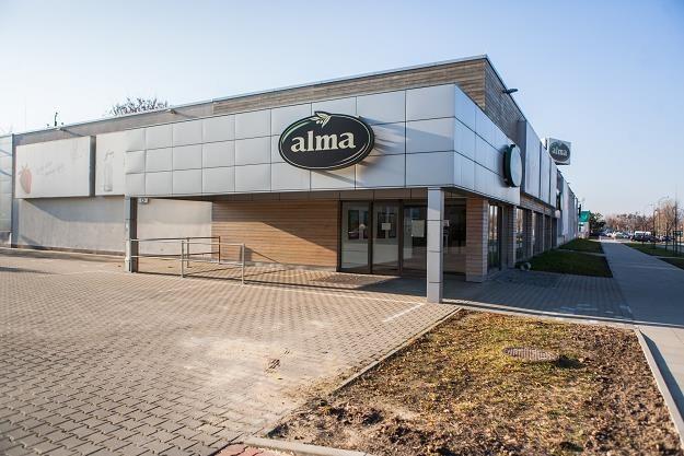 Alma, zamknięty sklep. Fot. Adam Burakowski /Reporter