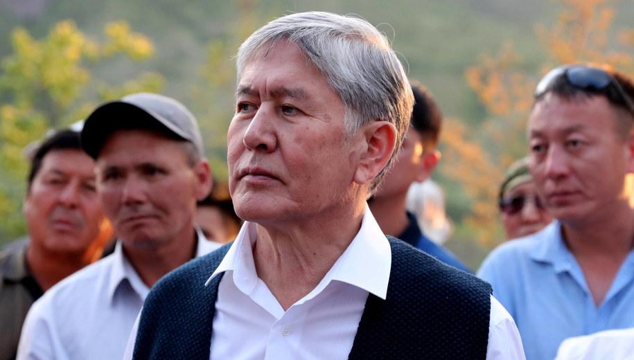 Ałmazbek Atambajew /IGOR KOVALENKO /PAP/EPA
