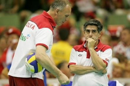 Alojzy Świderek i Raul Lozano Fot. Łukasz Grochala /Agencja Przegląd Sportowy