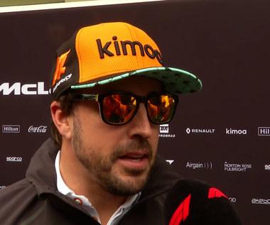 Alonso przed GP F1 w Brazylii. Wideo