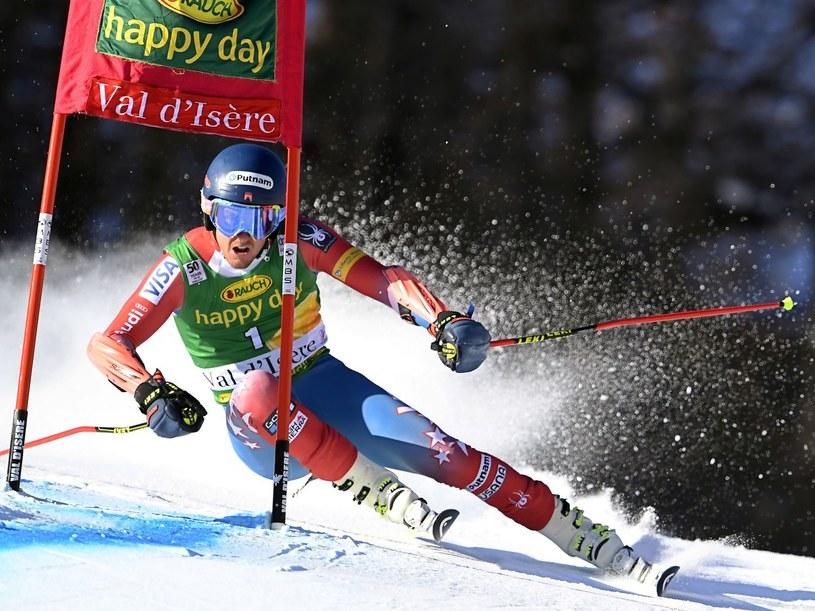 Alpejczyk Ted Ligety zakończył sezon z powodu kontuzji /AFP /AFP