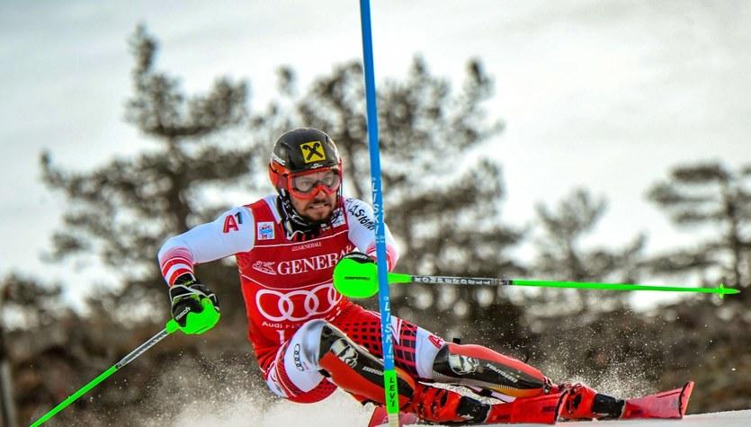 Alpejski PŚ. Marcel Hirscher wygrał slalom w Levi