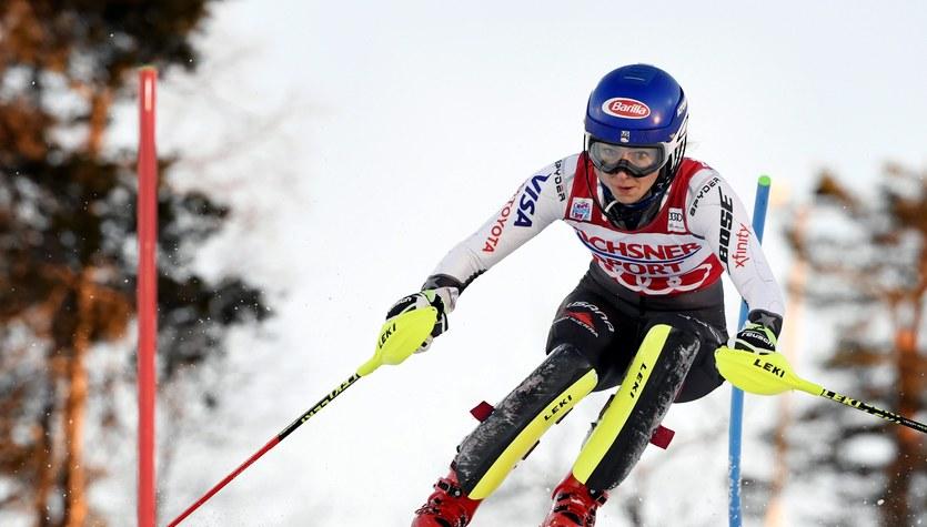 Alpejski PŚ. Shiffrin wygrała slalom w Levi