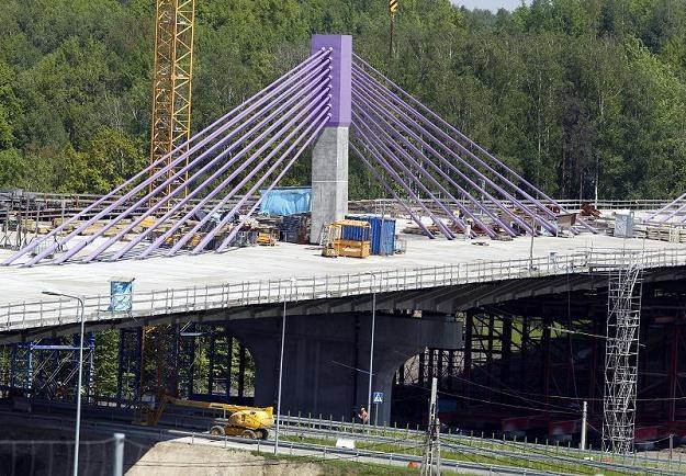 Alpine Bau twierdzi, że przez budowę tego mostu upadł cały koncern /PAP
